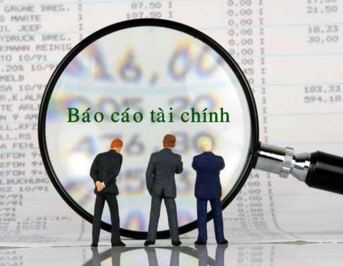 Tờ trình về việc thông qua báo cáo tài chính đã được kiểm toán